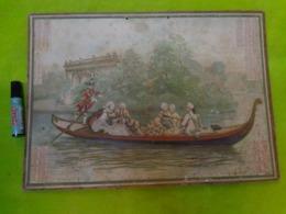 CALENDRIER GRAND FORMAT, OBERTHUR A RENNES, 1902, ILLUSTRATION: LA GONDOLE - Grand Format : 1901-20