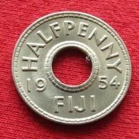 Fiji 1/2 Half Penny 1954 UNCºº - Fidschi