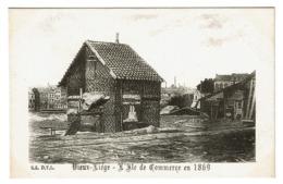 Vieux Liège - L'Ile De Commerce En 1869 - D.T.L. S.5 - 2 Scans - Liege