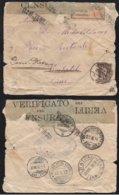ARGOSTOLI - GRECE - GREECE / 1916 LETTRE CENSUREE POUR LA SUISSE VIA L ITALIE (ref 3802) - Grecia
