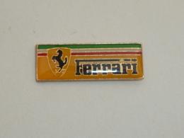 Pin's LOGO FERRARI  02 - Ferrari