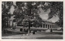 BAD SCHMIEDEBERG-DUBENER HEIDE-EISENMOORBAD-VIAGGIATA 1955 - Bad Schmiedeberg