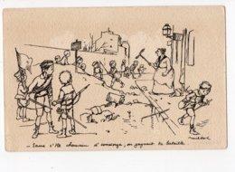 218 - ILLUSTRATEUR - POULBOT - Sans C'tte Chameau D'concierge, On Gagnait La Bataille - Bertiglia, A.