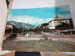 MARINA DI MASSA  HOTEL TIRRENO AUTO CAR  GIARDINETTA FIAT  VB1957  HE463 - Massa