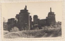 9AL1981 PHOTO LA HUNAUDAYE 1954 PIQUE NIQUE  2 SCANS - Autres Communes