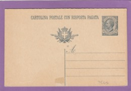 ENTIER POSTAL NEUF,DOUBLE,15 CENT. - Stamped Stationery