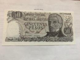 Argentina 50 Pesos Banknote 1976 - Argentina