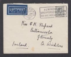 BRIEF VON KOPENHAGEN NACH IRLAND,1934. - 1913-47 (Christian X)