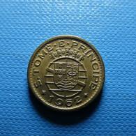 Portuguese S. Tomé E Príncipe 10 Centavos 1962 - Portugal