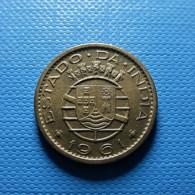 Portuguese India 10 Centavos 1961 - Portugal