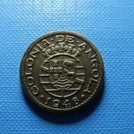 Portuguese Angola 20 Centavos 1948 - Portugal