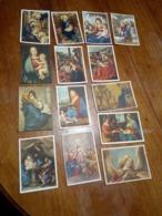 14 Cartoline NON VIAGGIATE Pittori Madonna Con Bambino Altri Temi Classici Religiosi - Pittura & Quadri