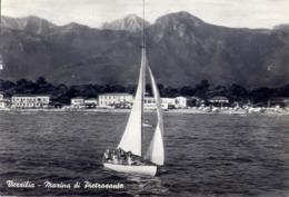 Versilia - Marina Di Pietrasanta - Formato Grande Viaggiata – E 13 - Italien