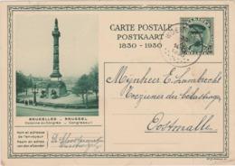 ALBERT I  35 C. - Wuestwezel - 1930 - Cartes Illustrées