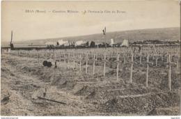 Bras Cimetière Militaire - à L'horizon La Côte Du Poivre - Port France Inclus - Francia