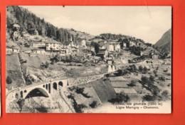 MTT-30 Vue Générale De Finhaut, Ligne Train Martigny-Chamonix . Burgy, Non Circulé - VS Valais