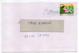 """1997--tp Adhésif """" La Lettre""""  Seul Sur Lettre  --cachet  Cholet -49 - Marcophilie (Lettres)"""