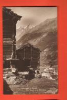 MTT-38 Herbriggen Ob  Zermatt, Vieux Mazots Et Mischabels. Nicht Gelaufen Perrochet-Matile 6755 - VS Valais