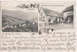 BREITENBACH (67) GRUSS AUS BREITENBACH ( VAL De VILLE) TOTALANSICHT. WIRTSCHAFT ZUR KRONE.G. DONTENVILLE. - Frankreich