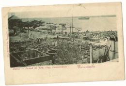 S7704  - Paramaribo - Ruine - Brand 26 Jan. 1899 - Surinam