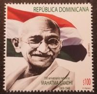 DOMINICAN REP. 2019 - 150th Anniv. Birth Of Mahtma Gandhi (India) - Repubblica Domenicana