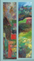 Marque Page Thème Peinture Lot De 2 Marques Page Pinardel Papier Brillant Glacé - Marque-Pages