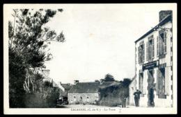 Cpa 22  Calanhel La  Poste   -- Environs Callac Guingamp     LZ101 - Callac