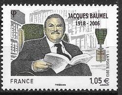 France 2013 N° 4754 Neuf Jacques Baumel à La Faciale - France