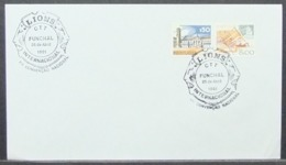 Portugal - Cover 1981 Wood Work Lions Club On Cancel Funchal - Briefe U. Dokumente