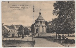 9269 Lithuania Vilnius Chapel Of The Fallen Warriors - Litauen