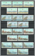 Saudi Arabia - 1994-1997 - ( Ports Of Saudi Arabia - Dammam, Jeddah, Yanbu & Jubail ) - Complete Set - MNH (**) - Saudi Arabia