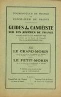 GUIDE DU CANOEISTE PETIT MORIN - GRAND MORIN -1950 - Libros, Revistas, Cómics
