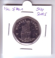 Isle Of Man 50 Pence - Milner's Tower (2015) - Regional Coins