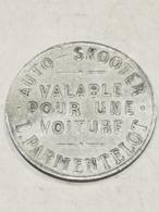 Jeton /Token Auto-Skooter, L. Parmentelot - Tokens & Medals