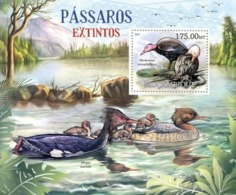 Mozambique, 2012. [moz12204] Birds (s\s+block) - Vögel