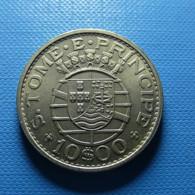 Portuguese S. Tomé E Príncipe 10 Escudos 1971 - Portugal