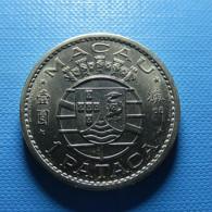 Portuguese Macau 1 Pataca 1968 - Portugal