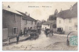 DOUCIER ( 39 - Jura ) - Hôtel Lamy ( Très Animée , Personnes , Rue ) - TTB Etat - France