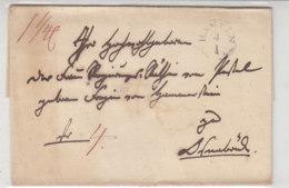 Brief Aus HAMELN 4.1. (1840) Nach OSNABRÜCK - Germany