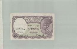 BILLET DE BANQUE  EGYPTIAN CURRENCY NOTE  1940   Billet  - Sept  2019  Alb Bil - Egypte