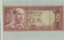 BILLET DE BANQUE   Afghanistan, Kingdom, 10 Afghanis, 1961  Billet  - Sept  2019  Alb Bil - Afghanistan