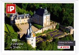 CP 86 Bonnes, Château De Touffou - Autres Communes