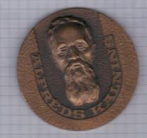 Latvia 1979 Music Musique Composer Compositeur Alfreds Kalnins Organ Orgel Orgue Medal Medaille - Tokens & Medals