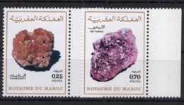 Moroco - Minerals On Postage Stamps MNH**  AL - Minerals