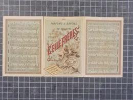 Cx9) CHROMO SAVONS DE TOILETTE - GELLE FRERES - CALENDRIER 1883 - Otros