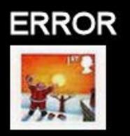GREAT BRITAIN 2004 Christmas 1st Santa Claus Sun Astronomy ERROR:Intact Matrix GB - 1952-.... (Elizabeth II)