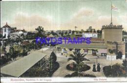 119497 URUGUAY MONTEVIDEO VILLA DOLORES VISTA PARCIAL & MILL MOLINO POSTAL POSTCARD - Suriname