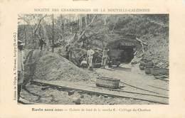 """CPA NOUVELLE CALEDONIE """"Mine De Charbon"""" / BAGNE / BAGNARD ?? - Nueva Caledonia"""