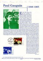 """"""" PAUL GAUGUIN """" Sur Document Philatélique Officiel De 1998.  N° YT 3207. Parfait état. DPO - Documents Of Postal Services"""