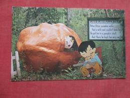 Peter Peter Punkin Eater      Mother Goose Land  Lolo   Montana  Ref   3606 - Fairy Tales, Popular Stories & Legends